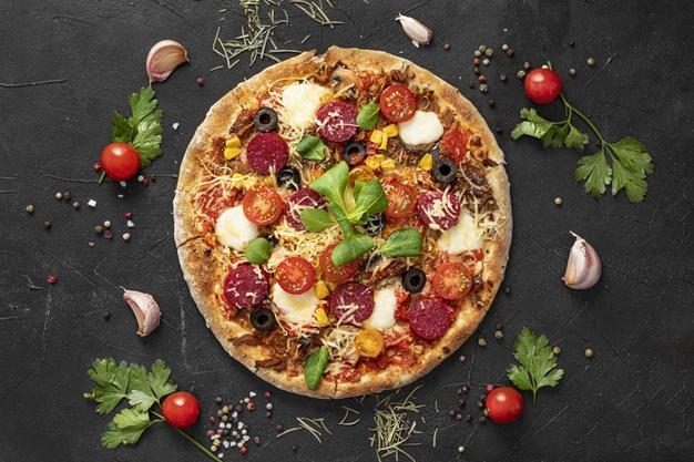 طرز تهیه خمیر پیتزا حرفه ای