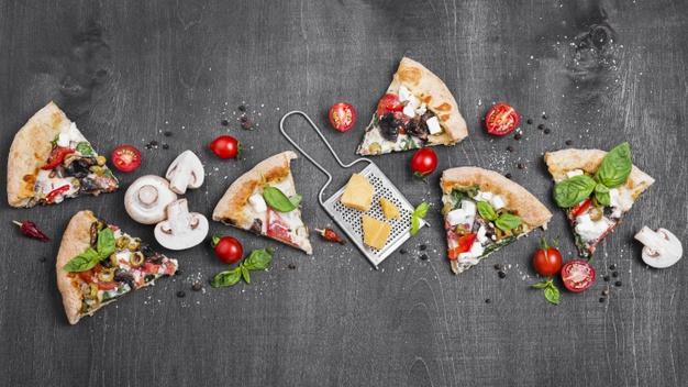 خمیر پیتزا تصویری