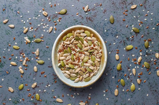 غذاهای پروستات دانه کنجد