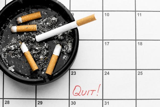 ترک سیگار عوارض