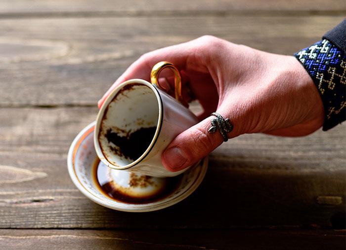 تعبیر فال قهوه طاووس