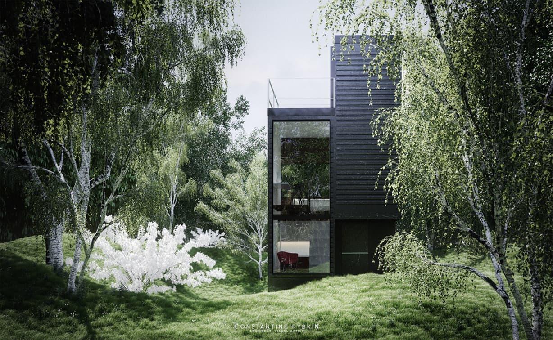 ایده طراحی ساختمان کلاسیک و خوشگل