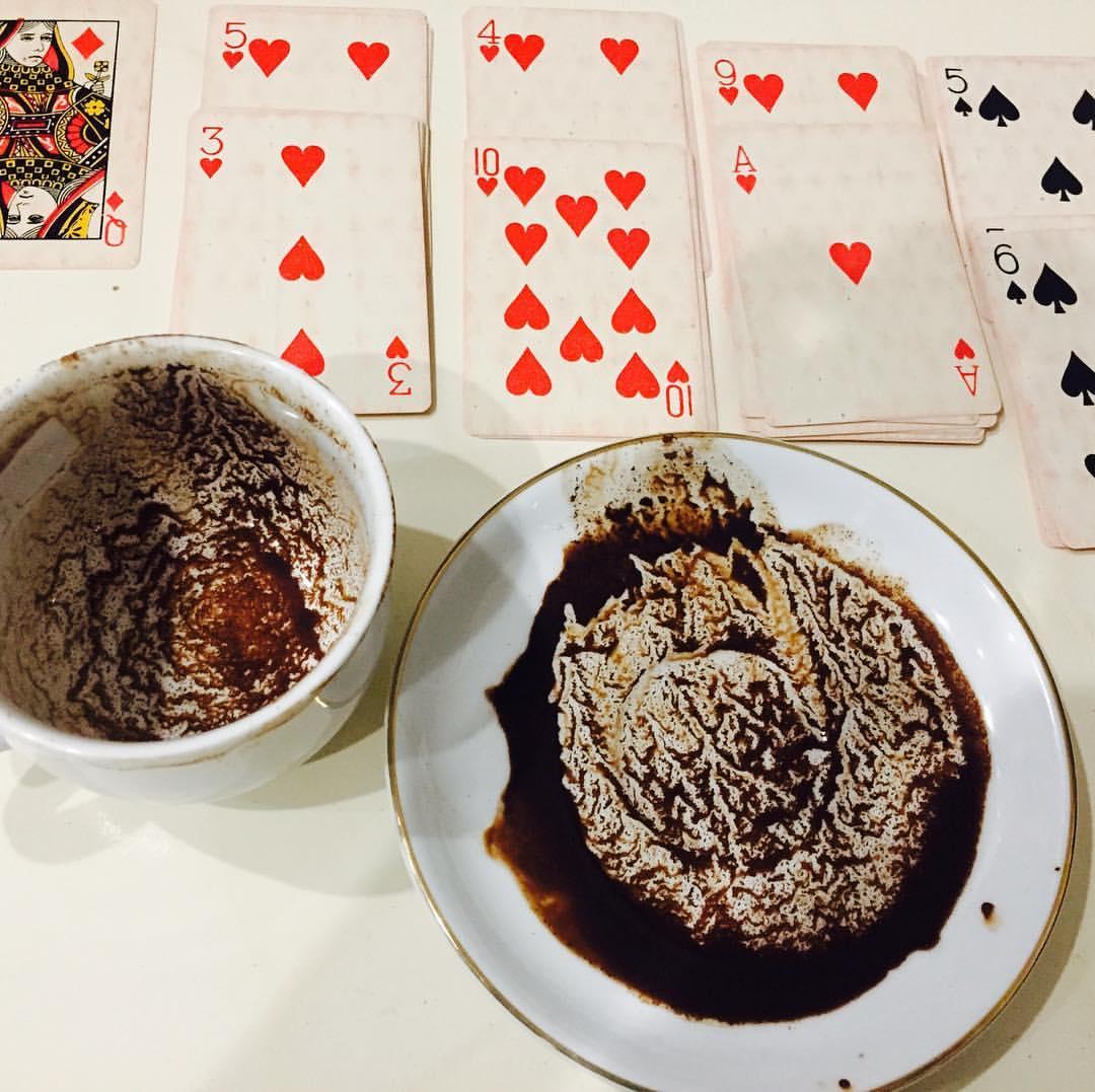 فال ترکیبی قهوه ورق تاروت