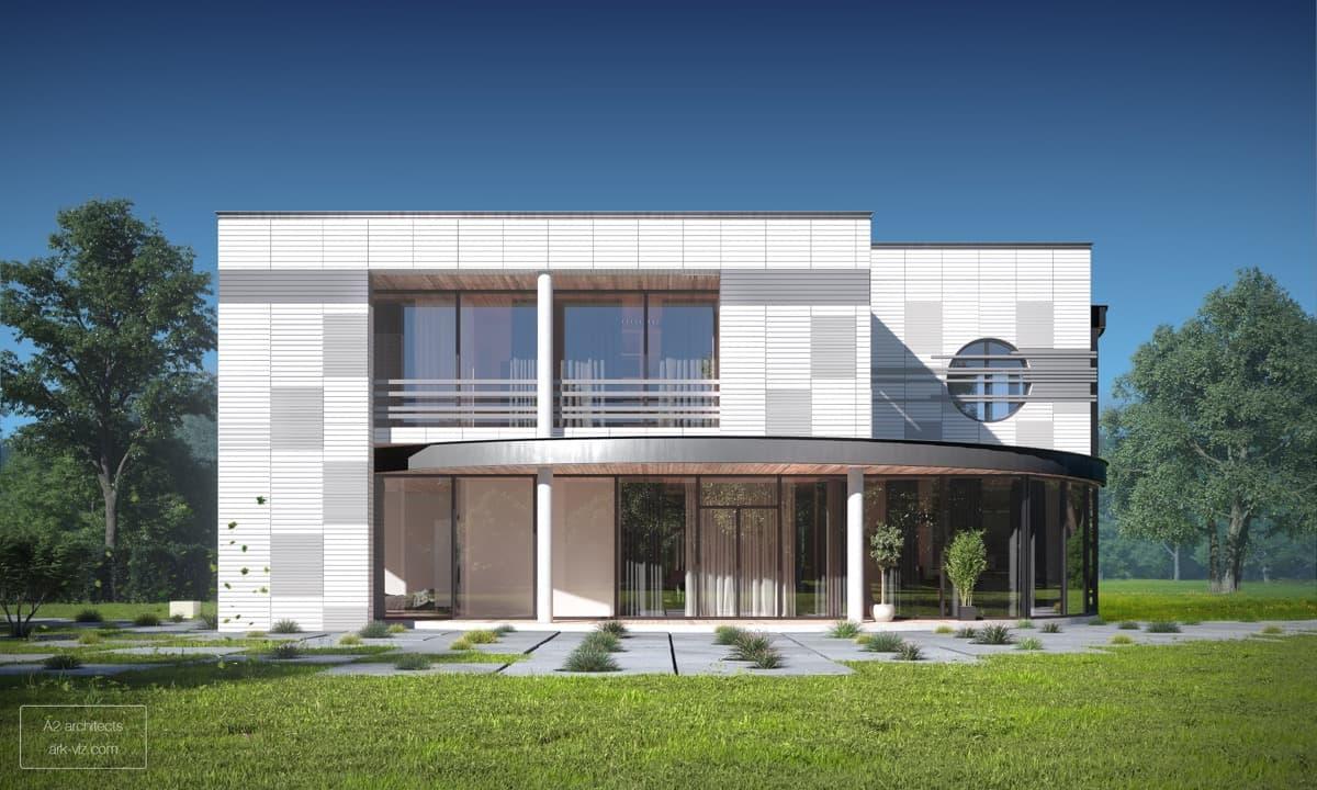 ایده های طراحی نمای ساختمان