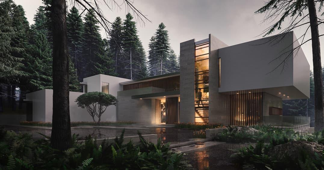 ایده طراحی نمای ساختمان