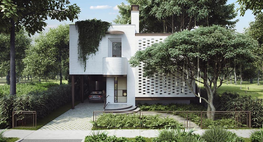 طراحی ساختمان مدرن