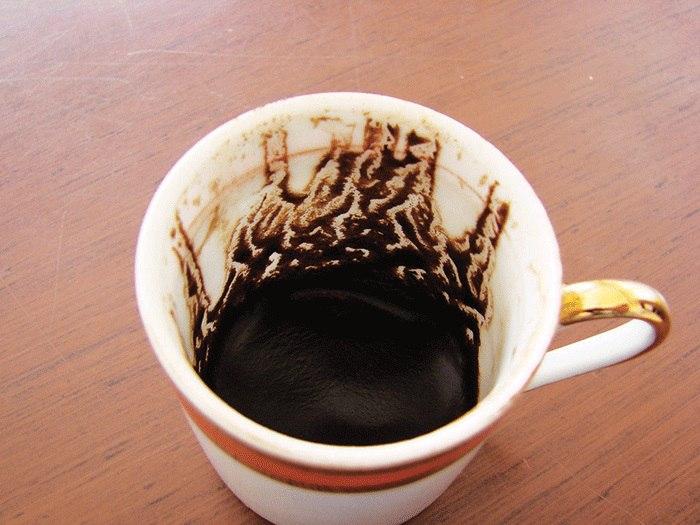 تعبیر آتش در فال قهوه