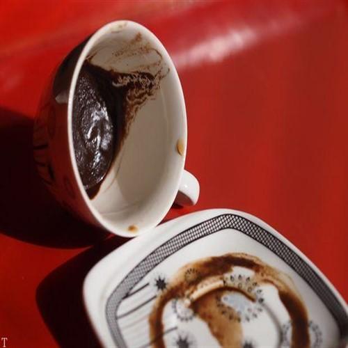 تعبیر نیم رخ در فال قهوه