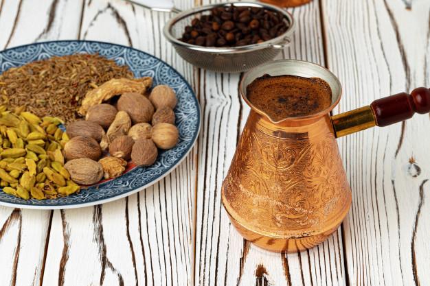 طرز تهیه قهوه ترکی اصل