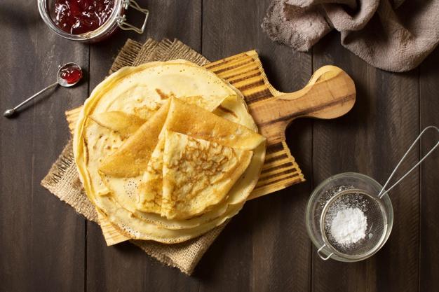 طرز تهیه پنکیک آماده سنتی