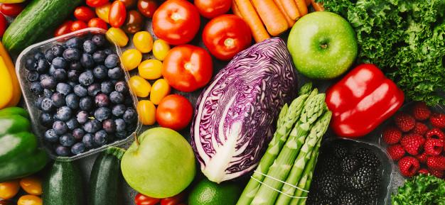 با میوه و سبزیجات کاهش وزن پیدا کنید