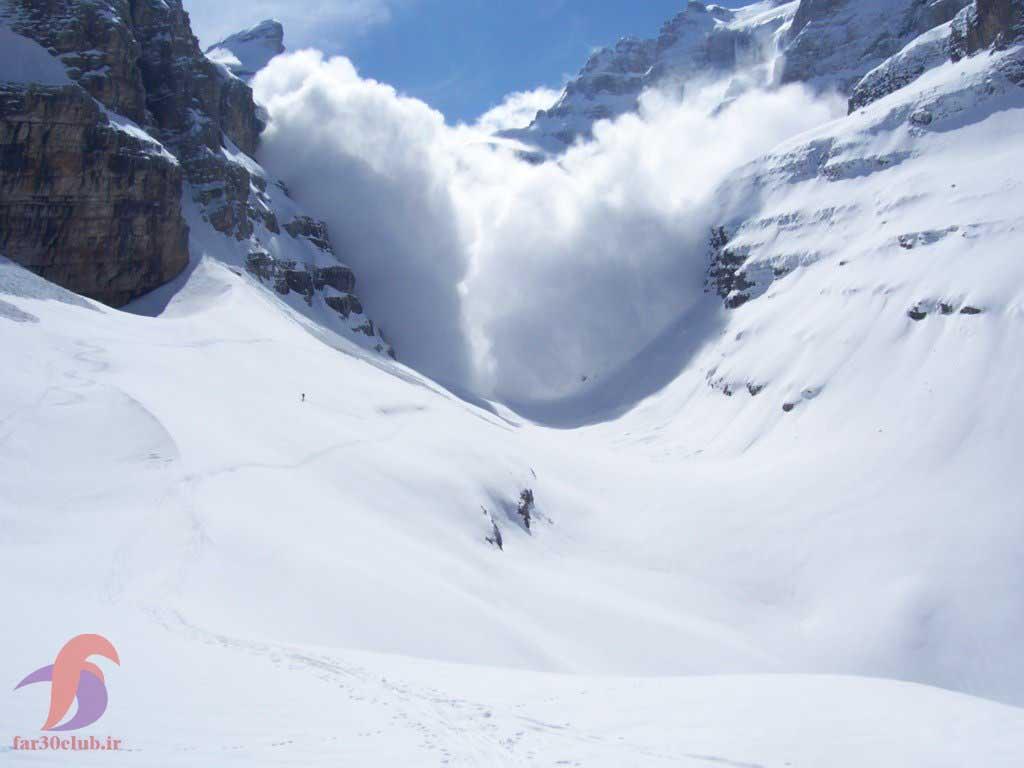 بهمن برف