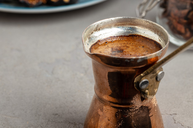 طریقه درست کردن قهوه ترک ، طرز تهیه قهوه بدون قهوه جوش