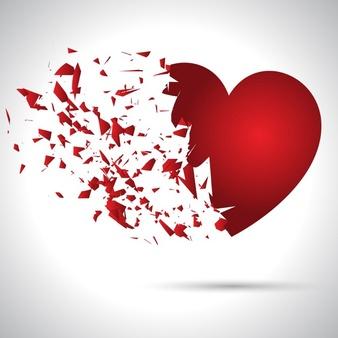 شعر دل شکسته ، شعر در باره دل شکسته