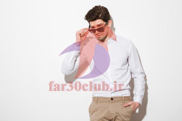 ژست عکاسی پسرانه با گوشی ، ژست عکاسی پسرانه با عینک