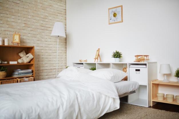 دیوار اتاق خواب ، چب روی دیوار اتاق خواب