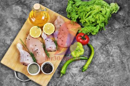 طرز تهیه مرغ خوشمزه برای مهمانی بدون رب ، طرز تهیه مرغ خوشمزه برای مهمانی در فر