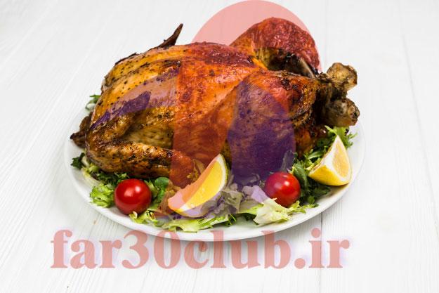 روش پخت مرغ خوشمزه برای مهمانی ، طرز تهیه ی مرغ خوشمزه برای مهمانی