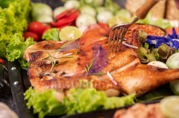 طرز تهیه مرغ خوشمزه برای مهمانی خاص ، طرز تهیه مرغ خوشمزه برای مهمانی خومانی