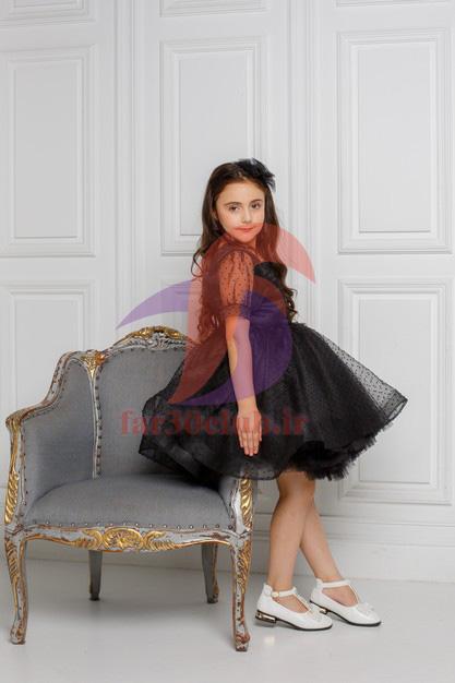 مدل لباس مجلسی دخترانه 14 ساله پوشیده ، مدل لباس مجلسی دخترانه 14 ساله عروسکی