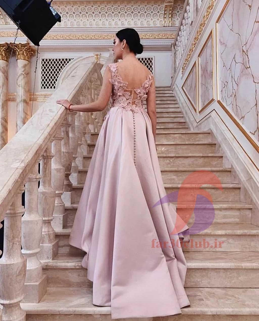 لباس مجلسی گلبهی