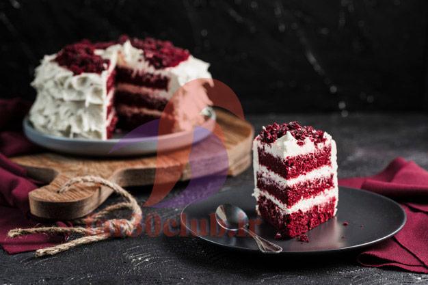 طرز تهیه کیک قرمز مخملی ، طرز تهیه کیک قرمز ایران کوک